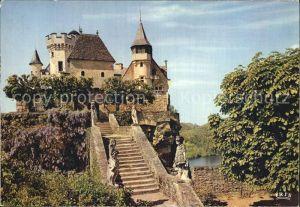 Montfort sur Meu Chateauy de la Dordogne Kat. Montfort sur Meu