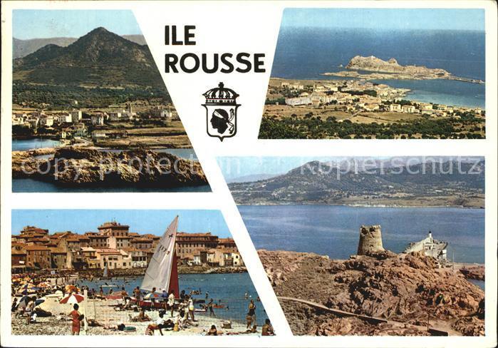 Ile Rousse Souvenir de l Ile de Beaute Plage Cote