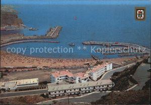 Puerto Rico Gran Canaria Playa Puerto Hafen Strand Kat. Gran Canaria
