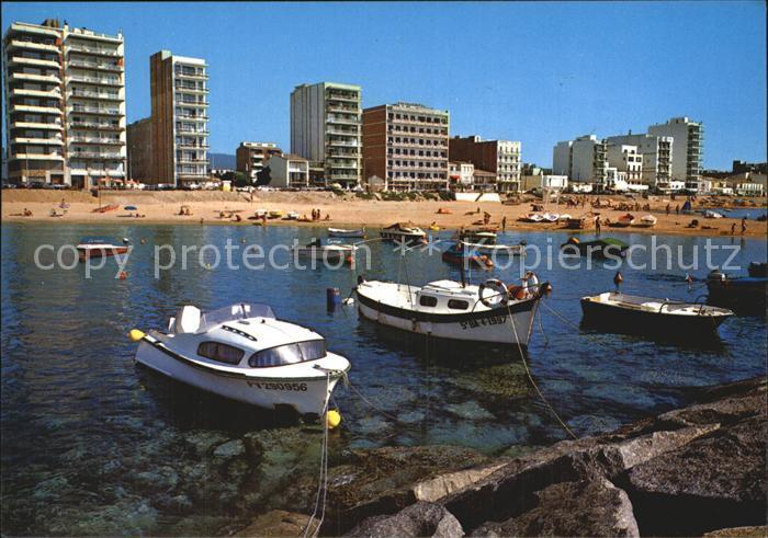 Sant Antoni de Calonge Vista parcial Playa Strand Hotels Kat. Calonge Playa de Aro