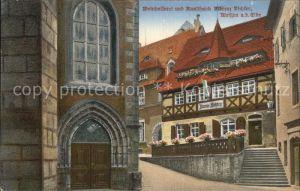 Meissen Elbe Sachsen Weinkellerei Ausschank Richter Kat. Meissen