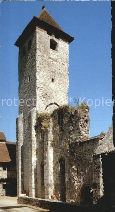 Marcilhac sur Cele LOT Abbaye Romane Kat. Marcilhac sur Cele