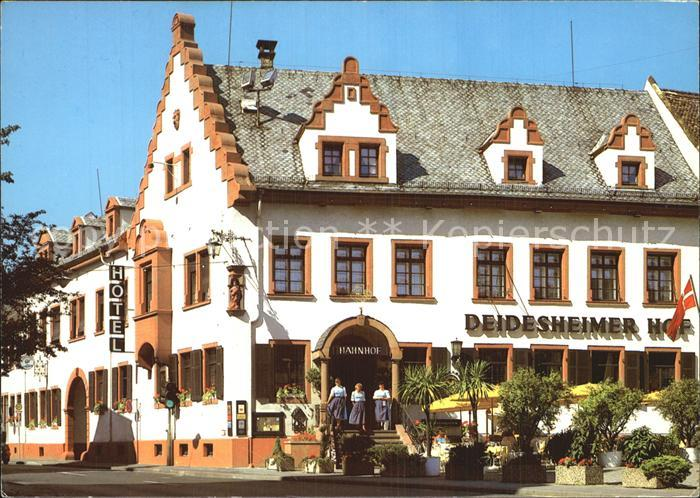 Deidesheim Romantik Hotel Deidesheimer Hof Kat. Deidesheim