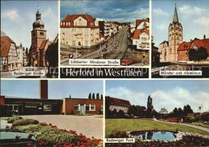 Herford Radewiger Kirche Muenster  Kat. Herford