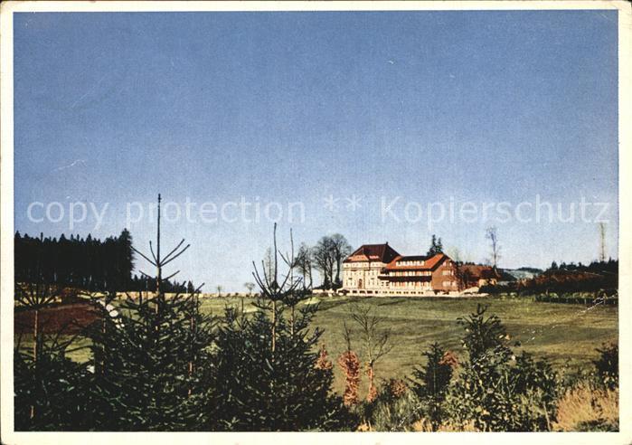 Breitenbrunnen Sanatorium  Kat. Sasbachwalden