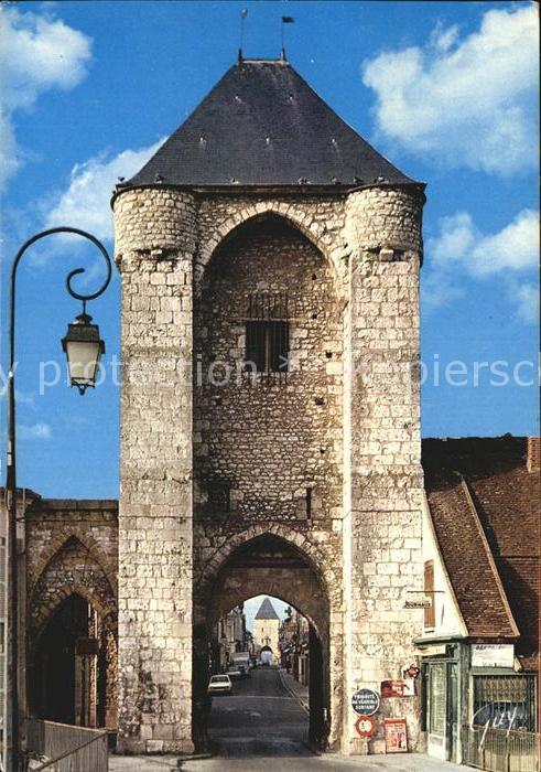 Moret sur Loing Porte de Bourgogne Kat. Moret sur Loing