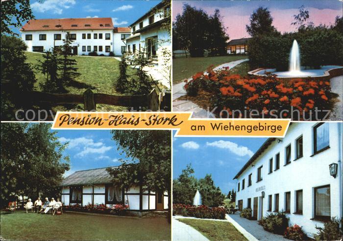 Bad Holzhausen Luebbecke Pension Haus Stork Am Wiehengebirge