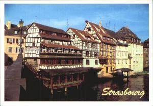 Strasbourg Alsace La Petite France Kleine Frankreich Fachwerkhaeuser Altstadt Kat. Strasbourg