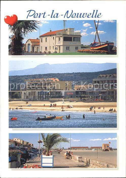 Port la Nouvelle La capitainerie la plage le front de mer Kat. Port la Nouvelle