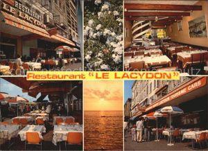 Marseille Restaurant Le Lacydon Coucher du soleil Kat. Marseille