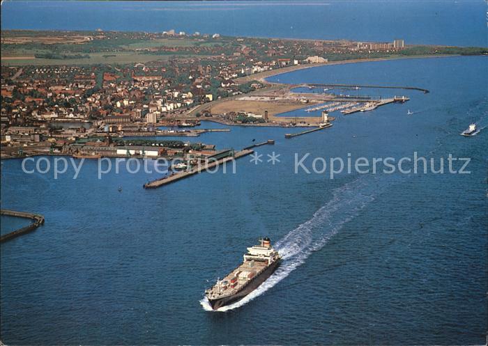 Cuxhaven Duhnen Nordseebad Luftaufnahme Cuxhaven Doese Duhnen Sahlenburg