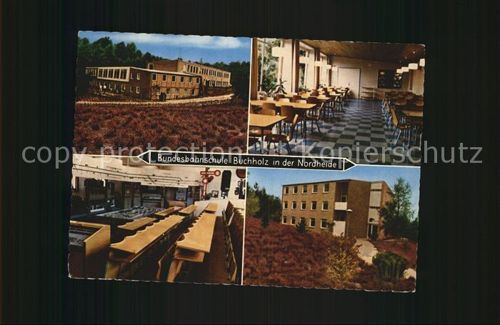 buchholz nordheide bundesbahnschule kat buchholz in der nordheide nr kv36206 oldthing. Black Bedroom Furniture Sets. Home Design Ideas