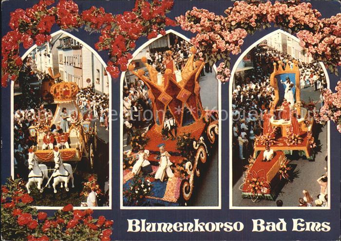 Bad Ems Blumenkorso Kat. Bad Ems 0