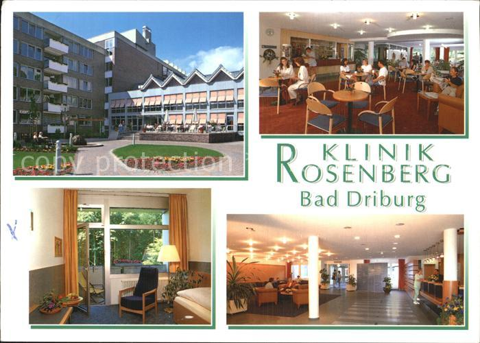 Rosenberg bad driburg klinik Fachklinik Rosenberg