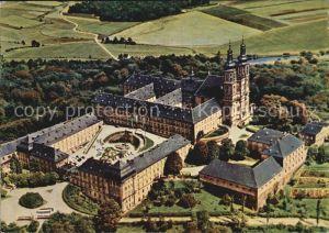 Banz Bad Staffelstein Schloss Banz Luftaufnahme