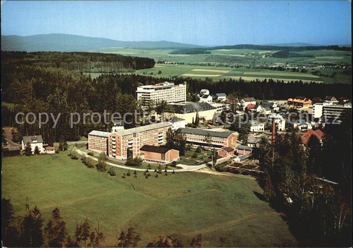 Bad Alexandersbad Fichtelgebirge Luftaufnahme Kat. Bad Alexandersbad