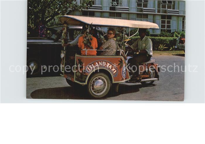 Tonga The Tricycle three wheel taxi Kat. Tonga
