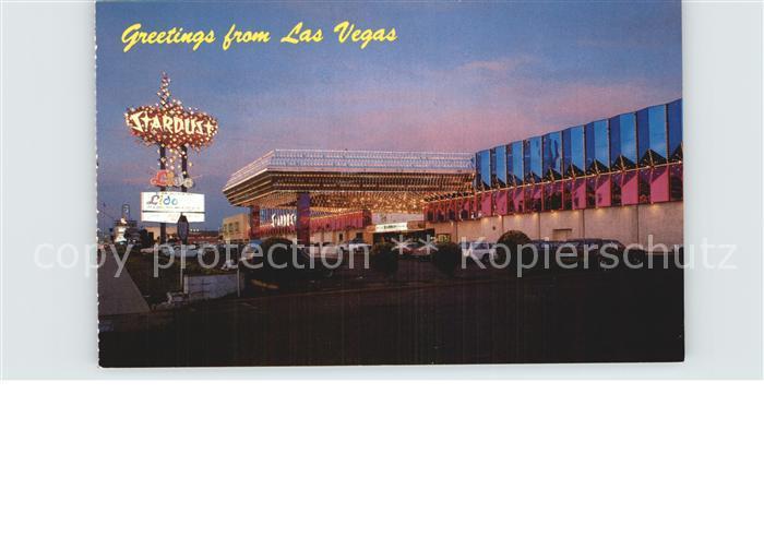Las Vegas Nevada Stardust Hotel and Casino on the Strip Kat. Las Vegas