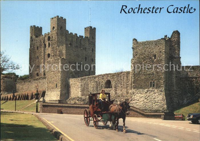 Rochester New Hampshire Castle Pferdekutsche Kat. Rochester