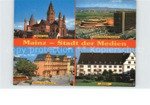 Mainz Rhein Dom ZDF Sendezentrum Museum Druckkunst Sautanz Zeughaus Stadt der Medien