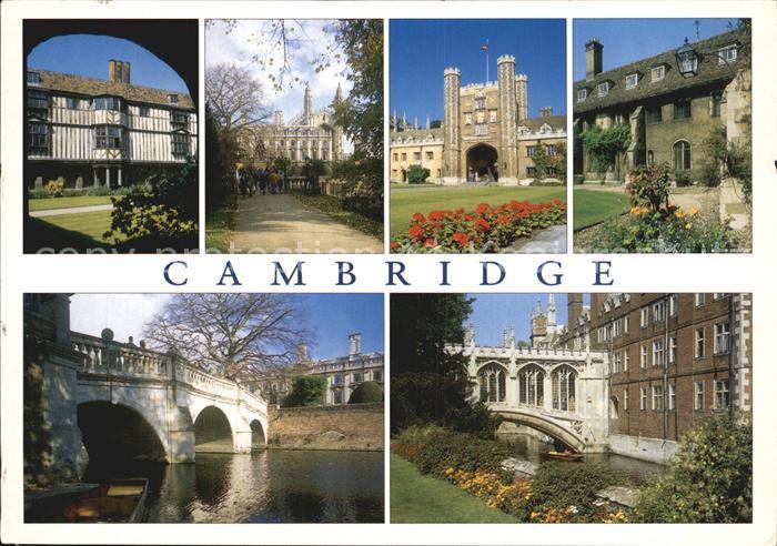 Cambridge Cambridgeshire Bridge of Sighs Queens Clare Bridge