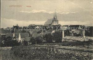 Lommatzsch Ansicht Kirche Kat. Lommatzsch