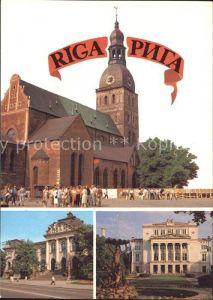 Riga Lettland Kirche Kat. Riga