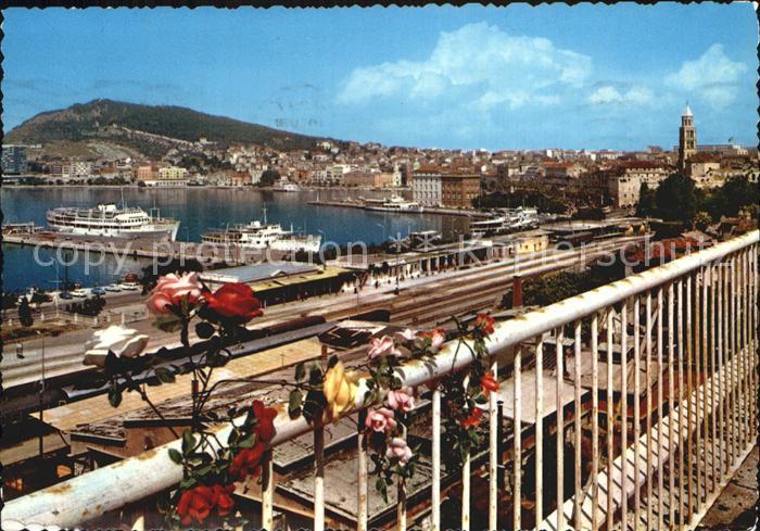 Split Spalato Panorama Kat. Split