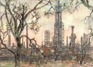 Bochum Industrieanlagen Kat. Bochum