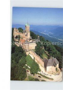 Haut Koenigsbourg Hohkoenigsburg Chateau vue aerienne Kat. Orschwiller