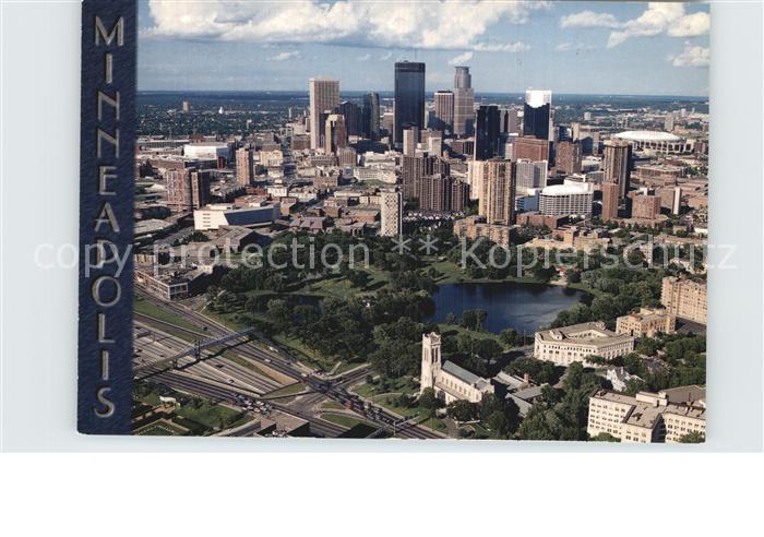 Minneapolis Minnesota Downtown aerial view Kat. Minneapolis