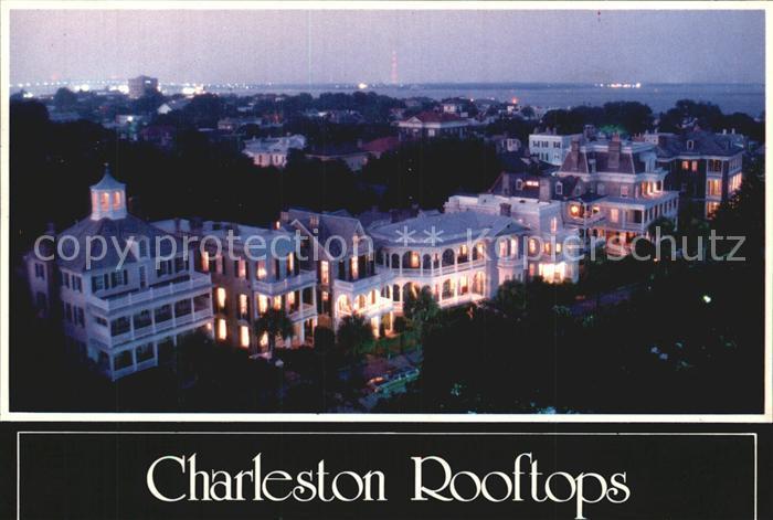 Charleston South Carolina Rooftops Kat. Charleston