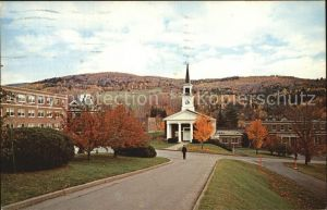 Northfield Vermont Webb Hall Amsworth Infirmary White Chapel Kat. Northfield