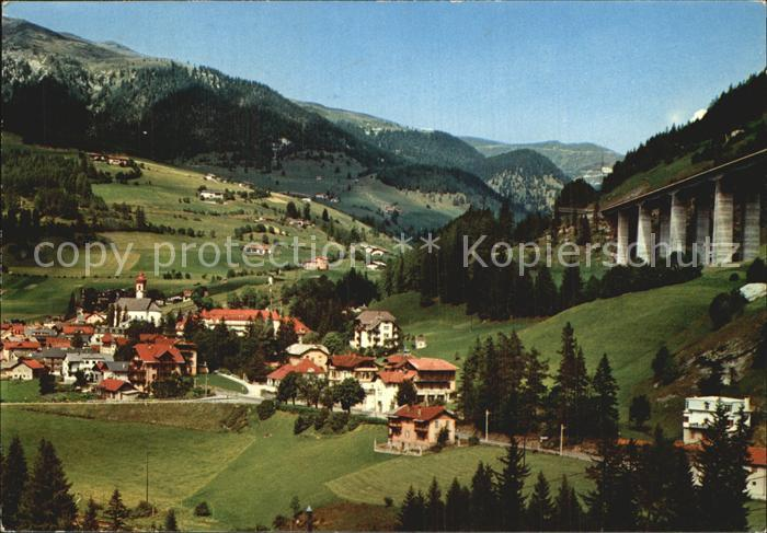Gossensass Suedtirol Colle Isarco Panorama Kat. Colle Isarco