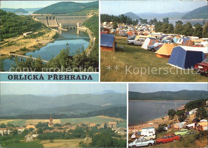Orlicka Prehrada Postavena v letech Plocha jezera Hraz Popeliky Klucenice Trhovky Kat. Tschechische Republik