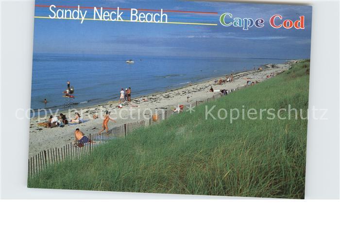 Cape Cod Mass. Sandy Neck Beach Kat.