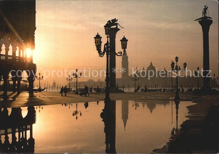 Venezia Venedig Piazetta San Marco e isola di San Giorgio Kat.