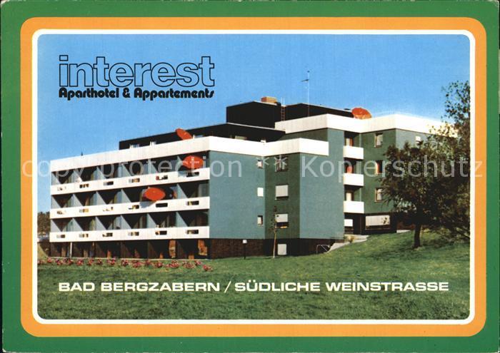 Bad Bergzabern Aparthotel Helmut Mann Kat. Bad Bergzabern