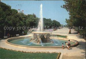 Rimini Parco Indipendenza Fontana dei Quattro Cavalli Marini Park Springbrunnen Kat. Rimini
