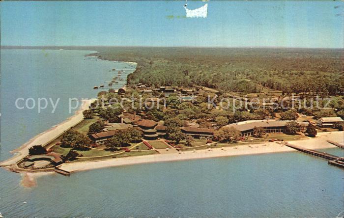 Point Clear Fliegeraufnahme mit Grand Hotel Kat. Point Clear