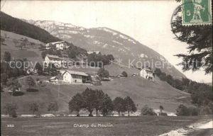 Champ du Moulin Vue d ensemble du village Kat. Champ du Moulin