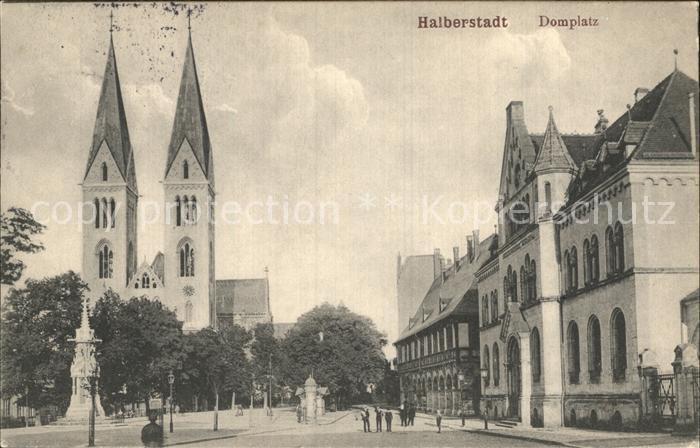 Halberstadt Dom Domplatz Kat. Halberstadt