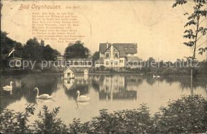 Bad Oeynhausen Am Siel Schwanenteich Kat. Bad Oeynhausen