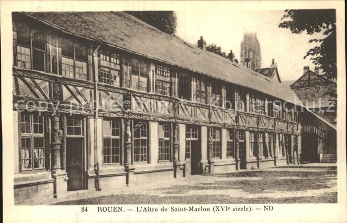 Rouen Aitre Saint Maclou Kat. Rouen