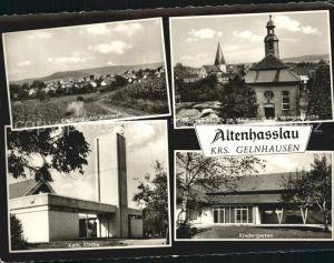Altenhasslau Siedlung Am Steines Jugendheim Wilhelmskirche Kath Kirche Kindergarten Kat. Linsengericht