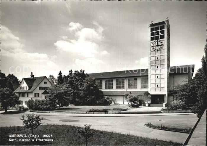 Amriswil TG Kath Kirche Pfarrhaus Kat. Amriswil