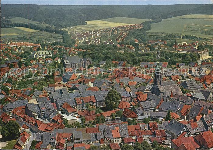 Einbeck Niedersachsen Fliegeraufnahme Kat. Einbeck