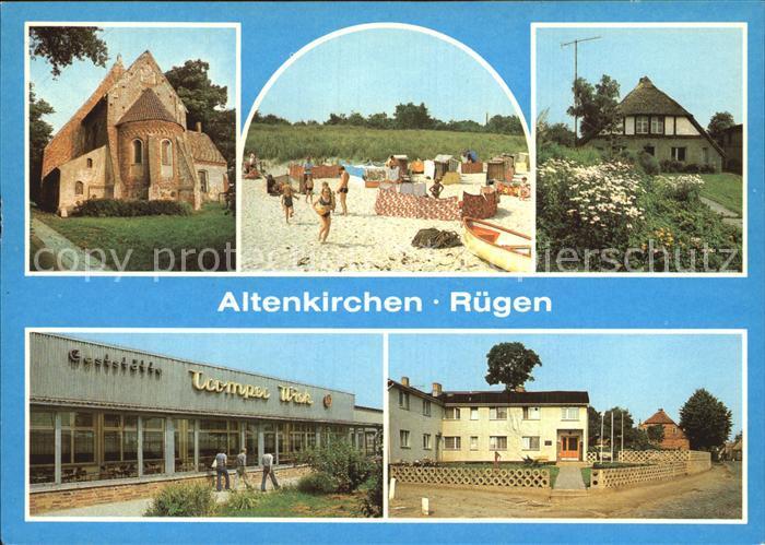 Glas Spiegel Altenkirchen altenkirchen ruegen kirche strand fischerhaus restaurant tromper