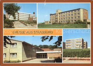 Strasburg Poliklinik Otto Naumann Halle Kat. Strasburg Uckermark