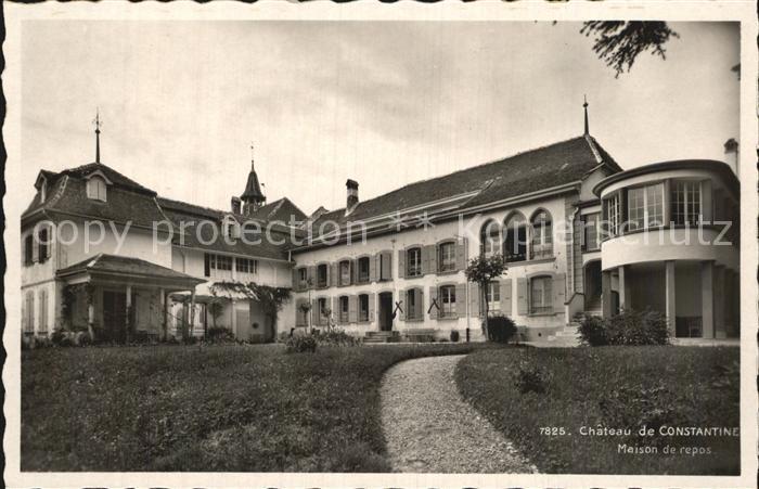 Constantine Avenches Chateau Maison de repos Kat. Constantine